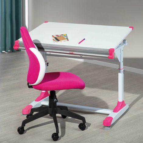 Bureau Tamara groen/roze