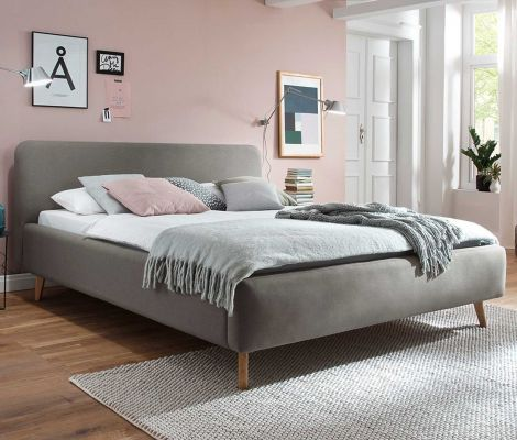 Bed Tony 140x200 - taupe