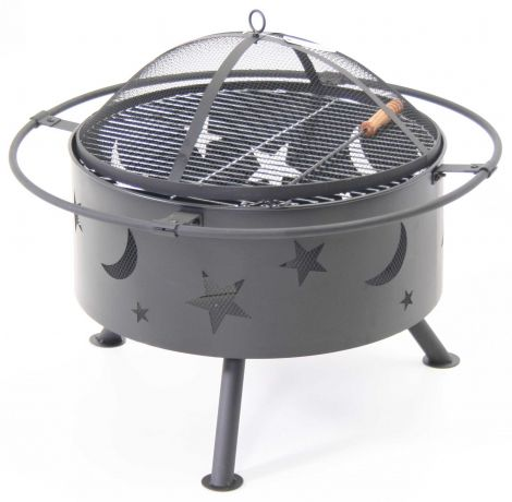 Vuurschaal & barbecue Moon