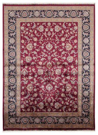 Vloerkleed Qoum Shah 2 Burgundy 150x80