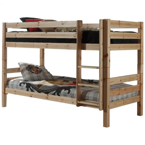Houten Stapelbed Claire laag - natuur - Vipack