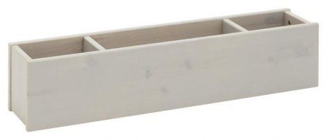 Opbergbox voor boomhutbed - grey wash