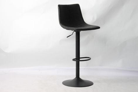Set van 2 verstelbare barstoelen Fontana - zwart