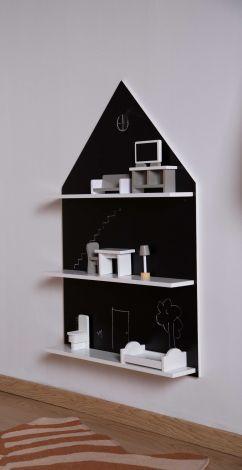 Wandrek Huis met krijtbord