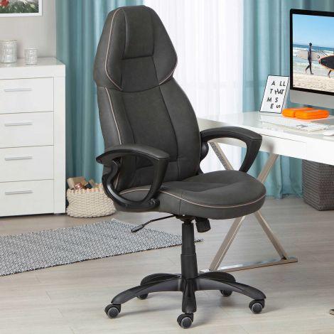 Bureaustoel Titanest - zwart/grijs