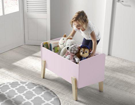 Kiddy speelkoffer - roze
