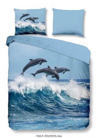 Dekbedovertrek Dolphins 240x220