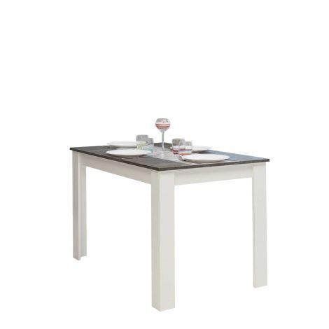 Eettafel Nice - wit/beton