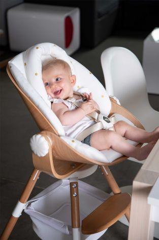 Babyzitje Newborn voor Evolu 2 en Evolu ONE.80° - naturel