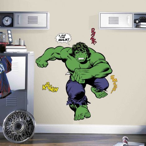 Muursticker Classic Hulk
