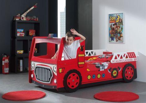 Brandweer bed Firetruck - Brandweerauto bed