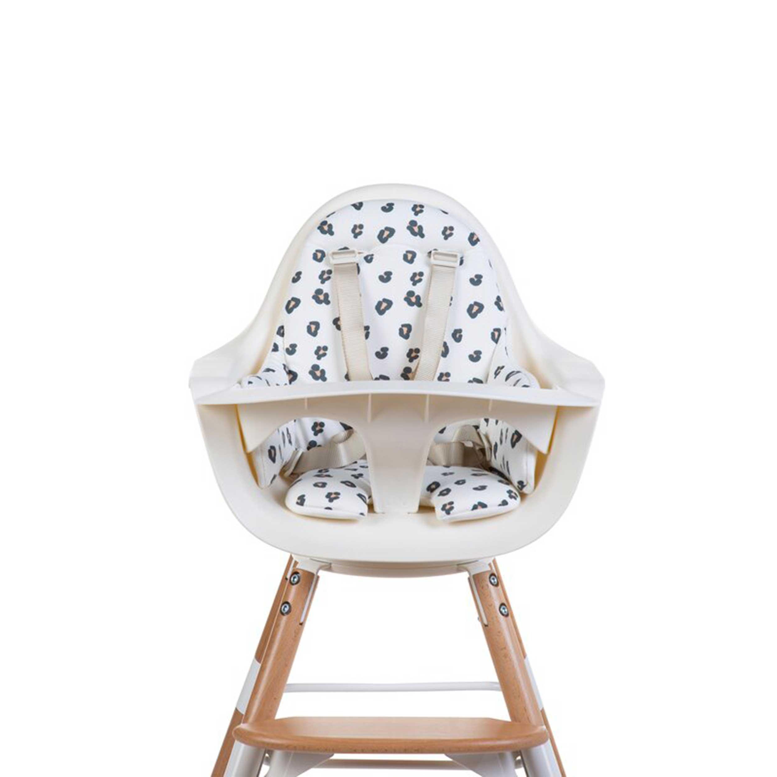 CHILDHOME Zitkussen voor kinderstoel Evolu luipaardprint