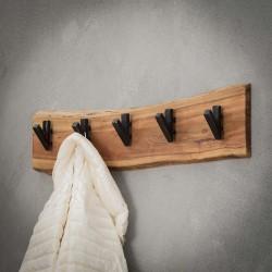 Wandkapstok hout